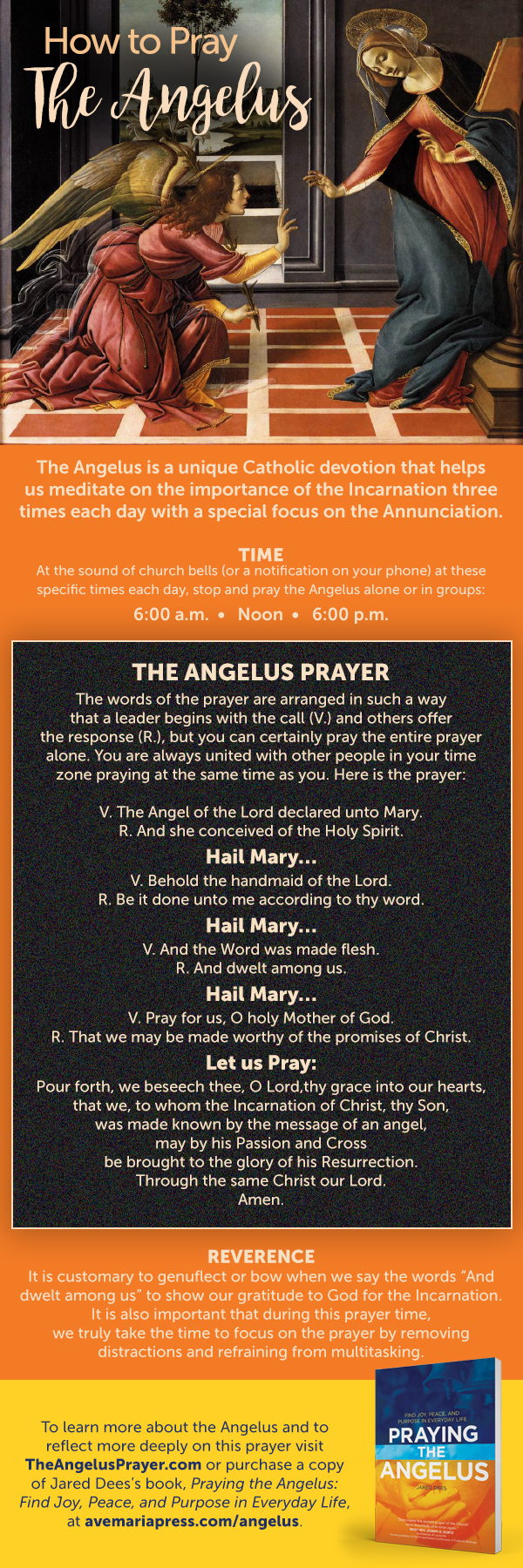 How to Pray the Angelus