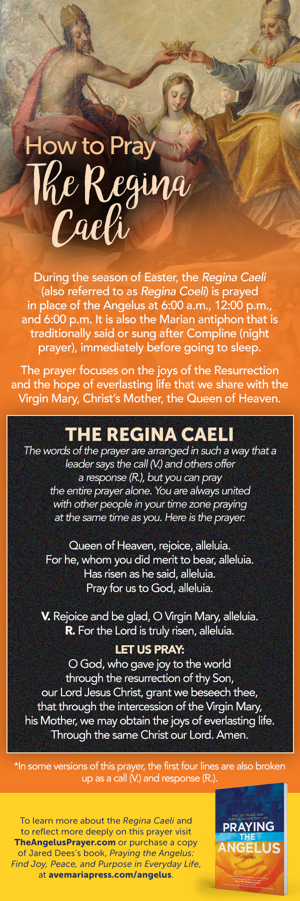 How to Pray the Regina Caeli